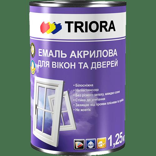 Эмаль для окон и дверей TRIORA