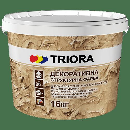 Декоративная структурная краска TRIORA
