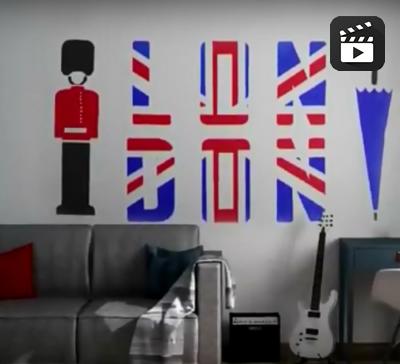 Привет, Лондон!: идеальный дизайн спальни для подростка