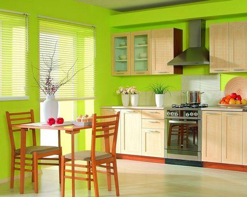 Модные стены на кухне: краска, штукатурка или обои?