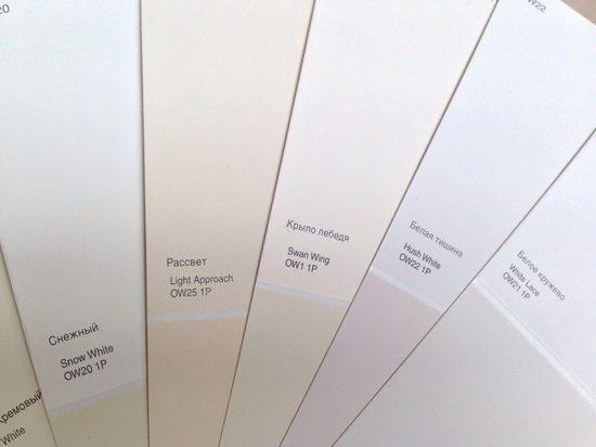 13 оттенков белой краски, которые покорили дизайнеров со всего мира