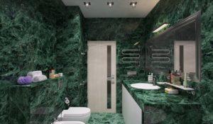 Темно-зеленые оттенки