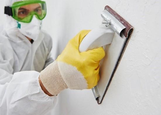 Как и зачем шкурить стены?