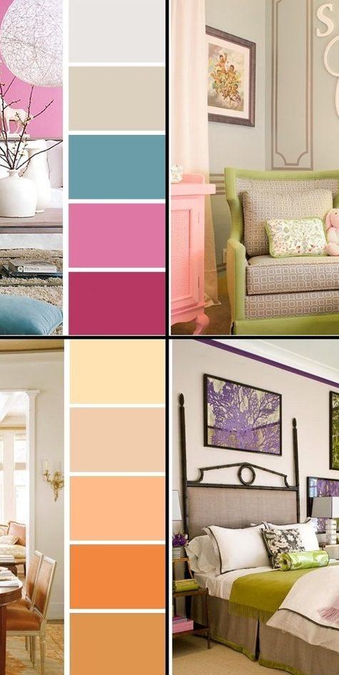 Как сочетать цвета в интерьере: 9 лайфхаков